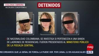 Foto: Detienen Extranjeros Implicados Robos Lindavista 7 Noviembre 2019