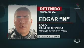 Foto: Detienen Líder Robo Casa Moneda 6 Noviembre 2019