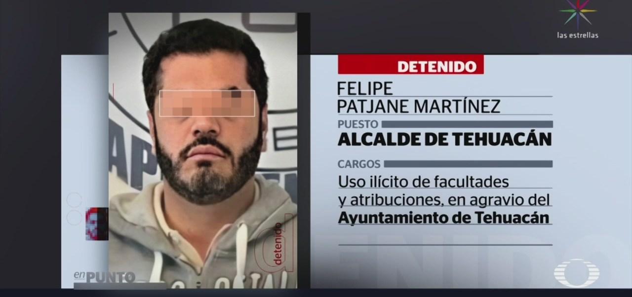 FOTO: Detienen al alcalde de Tehuacán, Puebla, 18 noviembre 2019