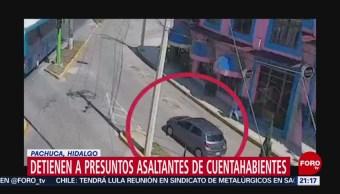 Foto: Detienen Hidalgo Banda Robo Cuentahabientes Cdmx 8 Noviembre 2019