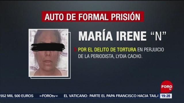 Foto: Formal Prisión Mujer Expolicía Caso Lydia Cacho 19 Noviembre 2019