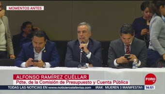 FOTO: Diputados decretan receso para revisión dictamen Presupuesto 2020