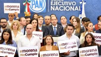 Diputados del PAN anuncian que no apoyarán presupuesto 2020.