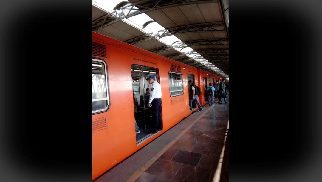 Foto: Disminuye cerca de 55% el robo en el metro, dicen autoridades