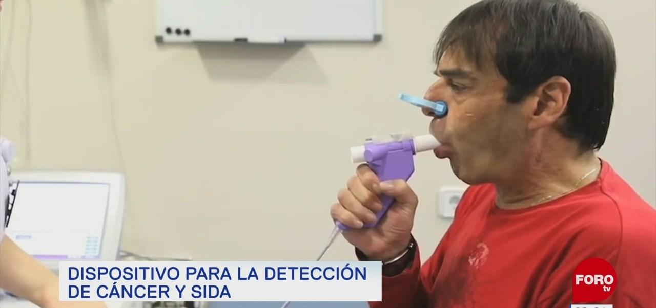 Dispositivo para la detección de cáncer y sida
