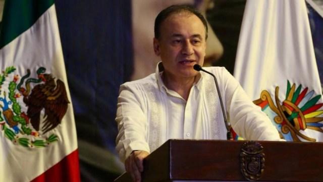Foto: El secretario dijo que, en el primer año de gobierno, se han congelado cuentas por cinco mil 160 millones de pesos en todo el país y agregó que mil 992 personas han sido vinculadas a proceso