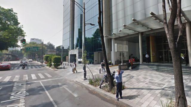 Edificio de la SCT, en Avenida Insurgentes Sur.