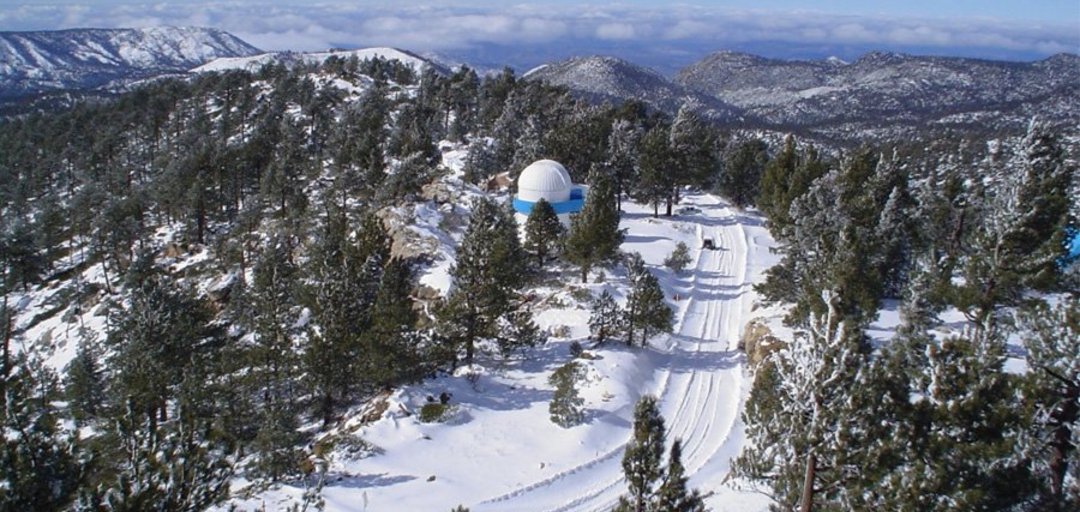 Foto: El punto más alto del Observatorio de San Pedro Mártir se encuentra ubicado a 2830 m sobre el nivel del mar, 21 de noviembre de 2019 (UNAM)