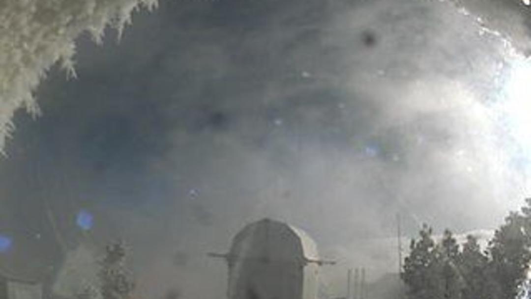 Foto: Las temperaturas llegaron hasta los 4 grados bajo cero, 21 de noviembre de 2019 (UNAM)