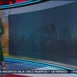 FOTO: Clima con Mayte Carranco 8 noviembre 2019