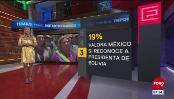 Foto: impacto portadas principales diarios 19 noviembre 2019