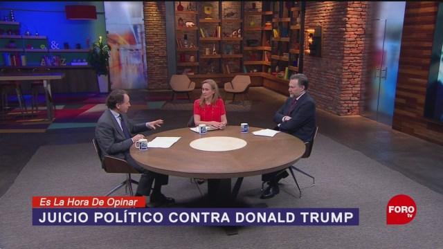 Foto: Qué Quieren Ganar Demócratas Impeachment Trump Juicio Político 4 Noviembre 2019