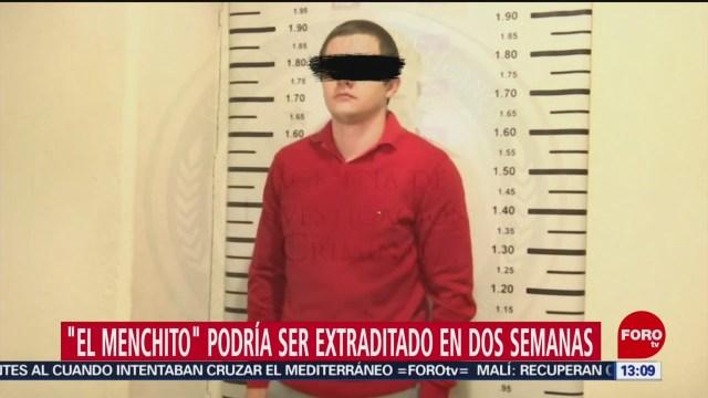 FOTO: El Menchito podría ser extraditado dos semanas Estados Unidos