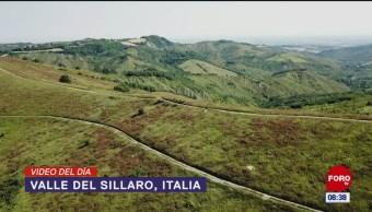 #ElVideodelDía: Valle de Sillaro, Italia