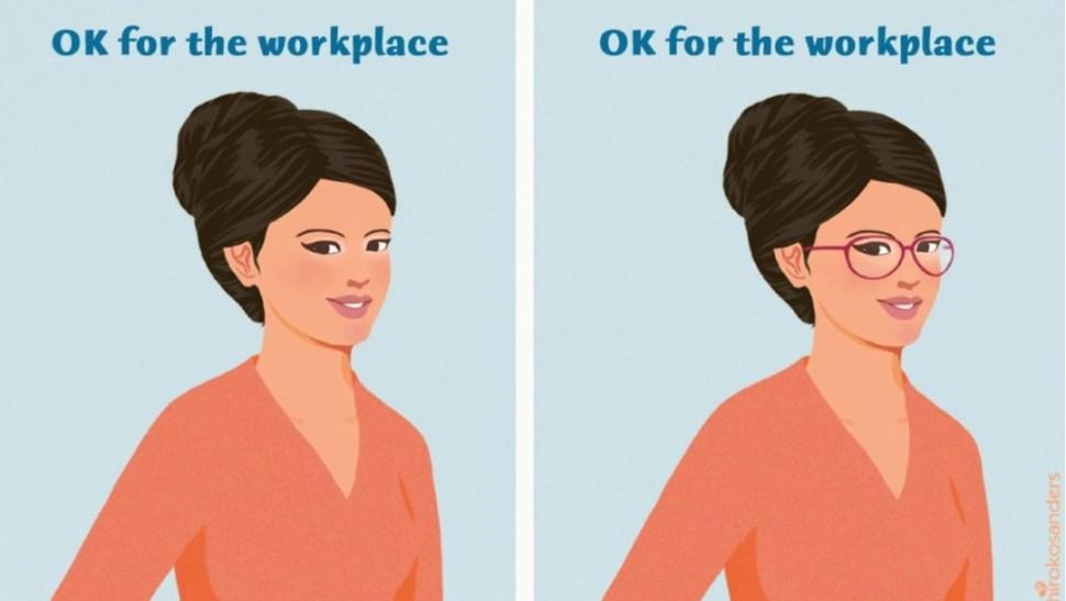 Foto: Empresas japonesas prohíben a mujeres usar lentes