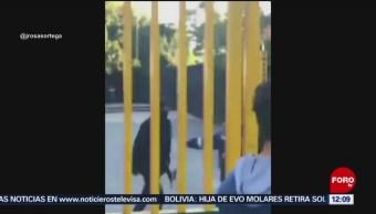 Encapuchados tratan de tomar instalaciones del CCH Sur