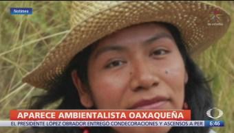 Encuentran con vida a la ambientalista Irma Galindo