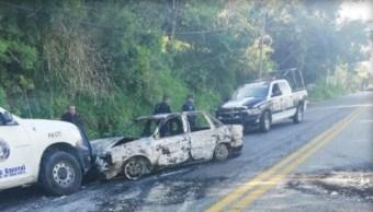 FOTO Enfrentamientos en Xaltianguis, Guerrero, dejan 19 detenidos