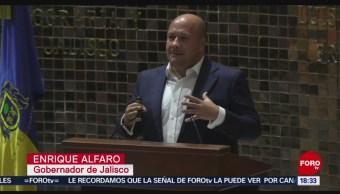 FOTO: Enrique Alfaro rinde su primer Informe Gobierno