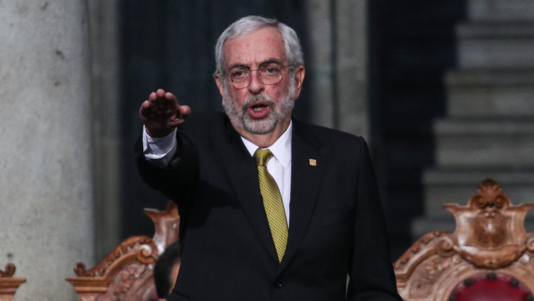 FOTO Enrique Graue rinde protesta como rector de la UNAM, para periodo 2019-2023 (Cuartoscuro/Galo Cañas)