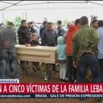 Foto: Entierran Ronitha Familia Lebarón Hijos Hoy 8 Noviembre 2019