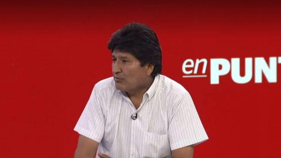 IMAGEN: Entrevista completa de Evo Morales con Denise Maerker. (Noticieros Televisa)