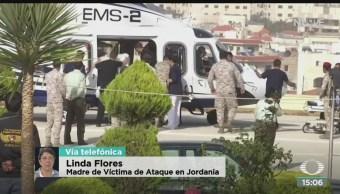 FOTO: Estables mexicanos heridos Jordania Linda Flores