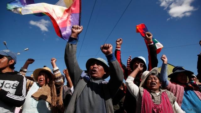 Foto: Evo Morales agradece apoyo de Bernie Sanders