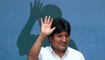 FOTO Evo Morales analiza volver a Bolivia o viajar a Argentina (Getty Images)