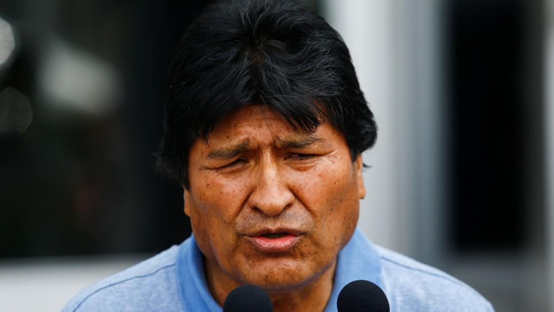 Foto Evo Morales, expresidente de Bolivia, llega a México