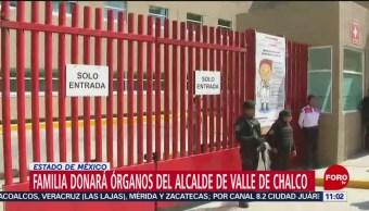FOTO: Familia donará órganos del alcalde de Valle de Chalco, 2 noviembre 2019