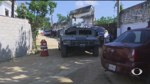 Foto: Familias Desplazadas Grupos Criminales Xaltianguis Regresan Casas 28 Noviembre 2019