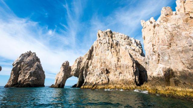 Foto: Imagen panorámica de Los Arcos, en Cabo San Lucas, BCS, Getty Images