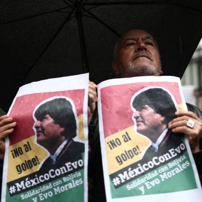 Senado respalda otorgar asilo político a Evo Morales