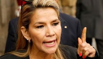 Foto: Jeanine Áñez Chávez, presidenta interina de Bolivia. Reuters
