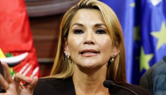 Foto: Jeanine Áñez asumió la Presidencia interina de Bolivia. Reuters