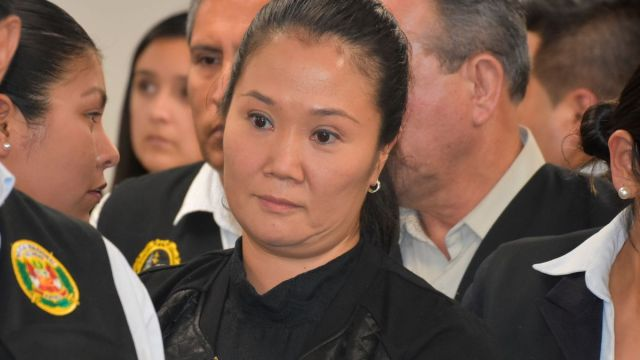 FOTO: Keiko Fujimori esperará con su familia fallo que puede devolverla a prisión, el 26 de enero de 2020