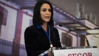 Foto: Periodista y activista Lydia Cacho. Cuartoscuro