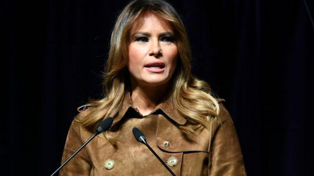 Foto: Melania Trump, primera dama de Estados Unidos. Reuters
