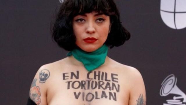 Foto: Policía de Chile denunciará a Mon Laferte por dichos sobre la crisis, 24 de noviembre de 2019, (Getty Images, archivo)