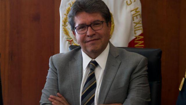 Foto: Ricardo Monreal, coordinador de los senadores de Morena. Cuartoscuro