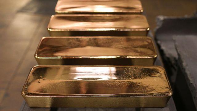 Foto: Lingotes de oro. Getty Images/Archivo