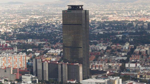 Foto: Torre Pemex en la Ciudad de México. Cuartoscuro