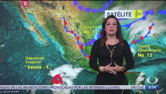 Foto: Frente frío 13 provocará lluvias Veracruz Oaxaca Chiapas