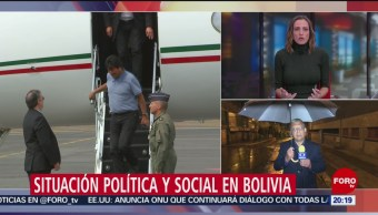 FOTO: Fuerzas armadas reconoce a Jeanine Áñez como presidenta interina de Bolivia, 12 noviembre 2019