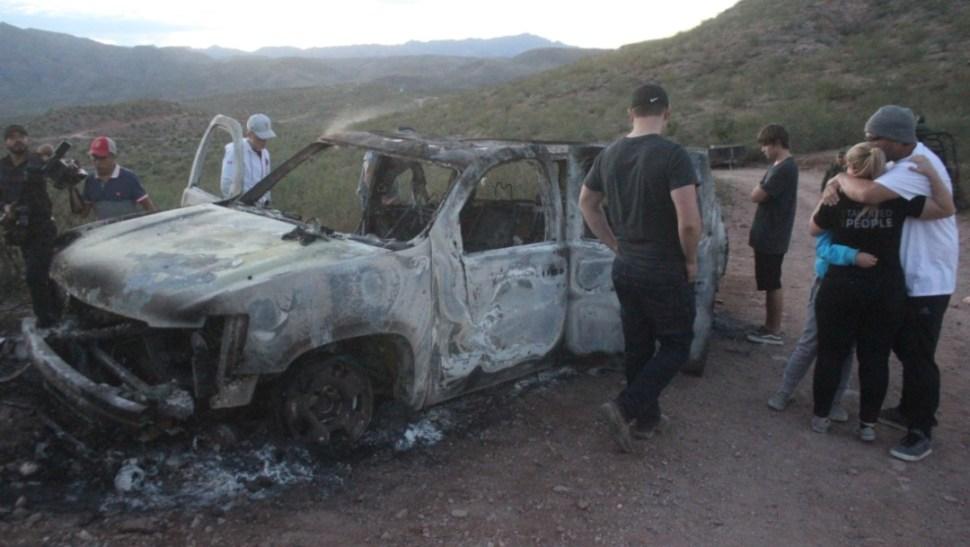 FOTO Gabinete de Seguridad informe avances en la investigación sobre la masacre de la familia LeBarón (Cuartoscuro/Nacho Ruiz)
