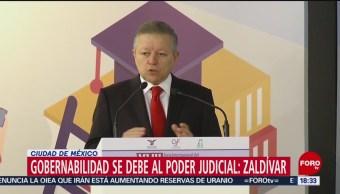 FOTO: Gobernabilidad País Debe Poder Judicial Zaldívar