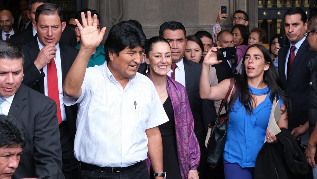 El Instituto Nacional de Migración ya otorgó la visa por razones humanitarias al expresidente de Bolivia, 13 de noviembre de 2019 (FOROtv)