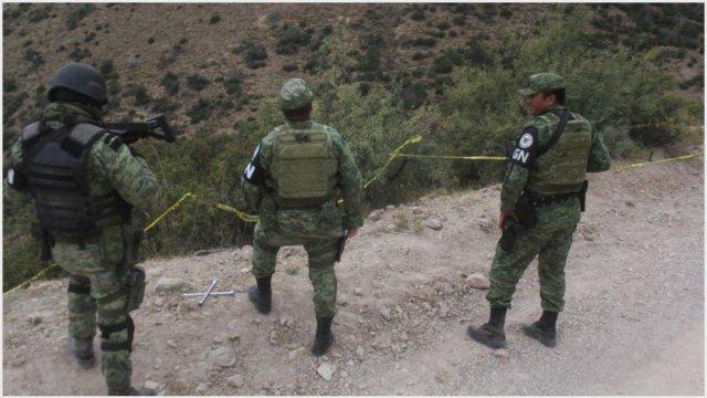 Imagen: La Guardia Nacional ya vigila problación LeBarón, 10 de noviembre de 2019 (NACHO RUIZ /CUARTOSCURO.COM)