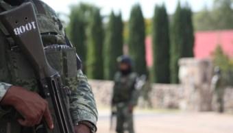 Imagen: El gobernador Alejandro Murat condenó el ataque y expresó su solidaridad con los deudos de las víctimas, 9 de noviembre de 2019 (Nacho Ruiz /Cuartoscuro.com)